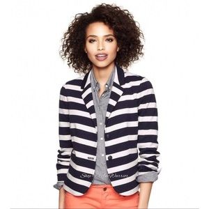 Gap Academy striped knit blazer